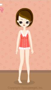 Sleeveless blouse / or10D
