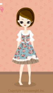 Flower dress / bl10BJ
