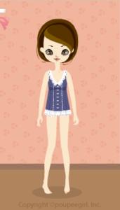 Sleeveless blouse / bl10D