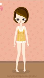 Sleeveless blouse / yw10D