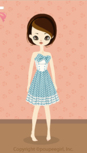 Dot cute dress / bl10B