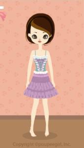 Ballerina dress / pr10B
