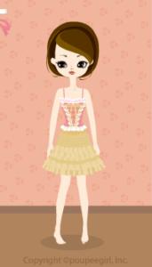 Ballerina dress / yw10B