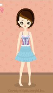 Ballerina dress / bl10B