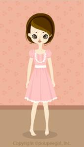 Let's Cooking 2009 - Lovely ribbon dress / pk09G