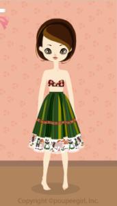 Tirolean Skirt / Gn10C