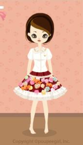 Sweets Deco Dress / Rd10B