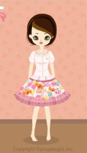 Sweets Deco Dress / Pk10B