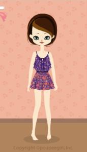 Flower camisole dress / pr10