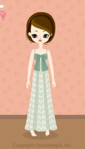Lace Long Dress / Gn10B