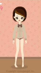 Frill blouse / br09J