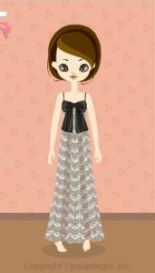 Lace Long Dress / Gr10B