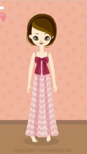 Lace Long Dress / Pk10B
