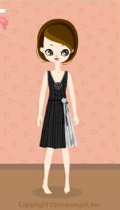 Sequined Dress / Bk10B