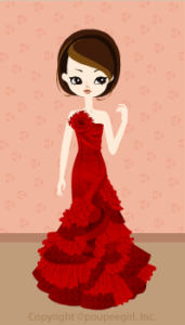 Mermaid dress / rd09F