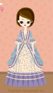 Frilled dress / bl09IJ