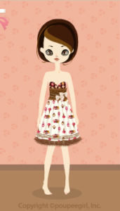 Sweets Lace Skirt / Wh10B
