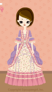 Frilled dress / pr09IJ
