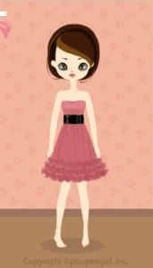Glitter dress / pk09K