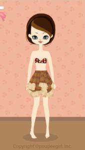 Asymmetric Skirt / Yw09L