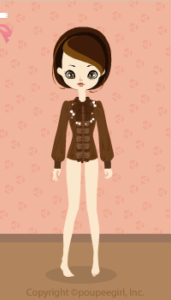 Bow Tie Blouse / Br10B