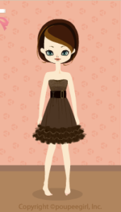Glitter dress / br09K