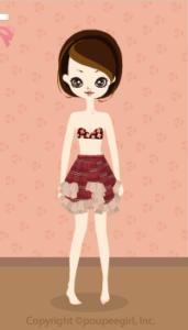 Asymmetric Skirt / Rd09L