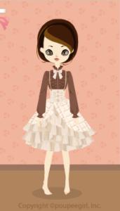 Chocolate Bar Dress / Bg10B