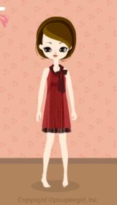 Pleats Dress / Rd10B