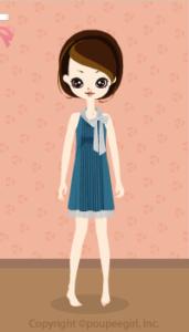 Pleats Dress / Bl10B