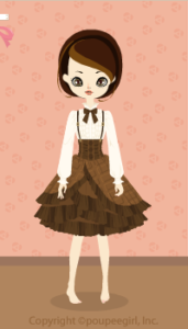 Chocolate Bar Dress / Br10B