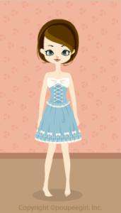 Classical dress / bl09HJ