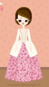 Flower dress / pk09IJ