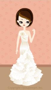 Mermail Dress / Wh09F