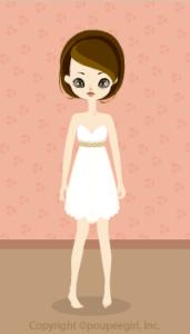Venus dress / wh09H