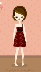 Flower camisole dress / br09IJ