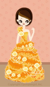 Twisted flower dress / 09F