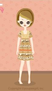 Animal motif dress / yw10DJ