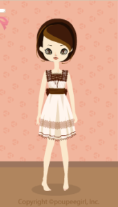 Chocolat dress / wh10C