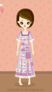 Oriental dress / pr13H