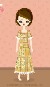 Oriental dress / yw13H