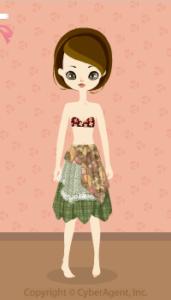 Layered skirt / 13H