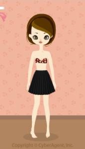Sailor skirt / 13H