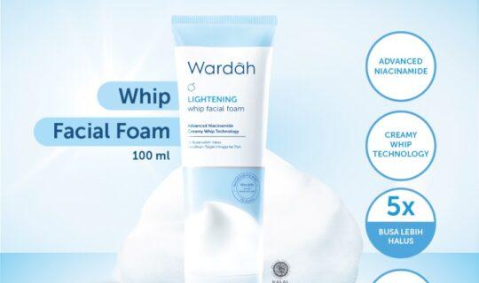 Wardah Lightening Whip Facial Foam