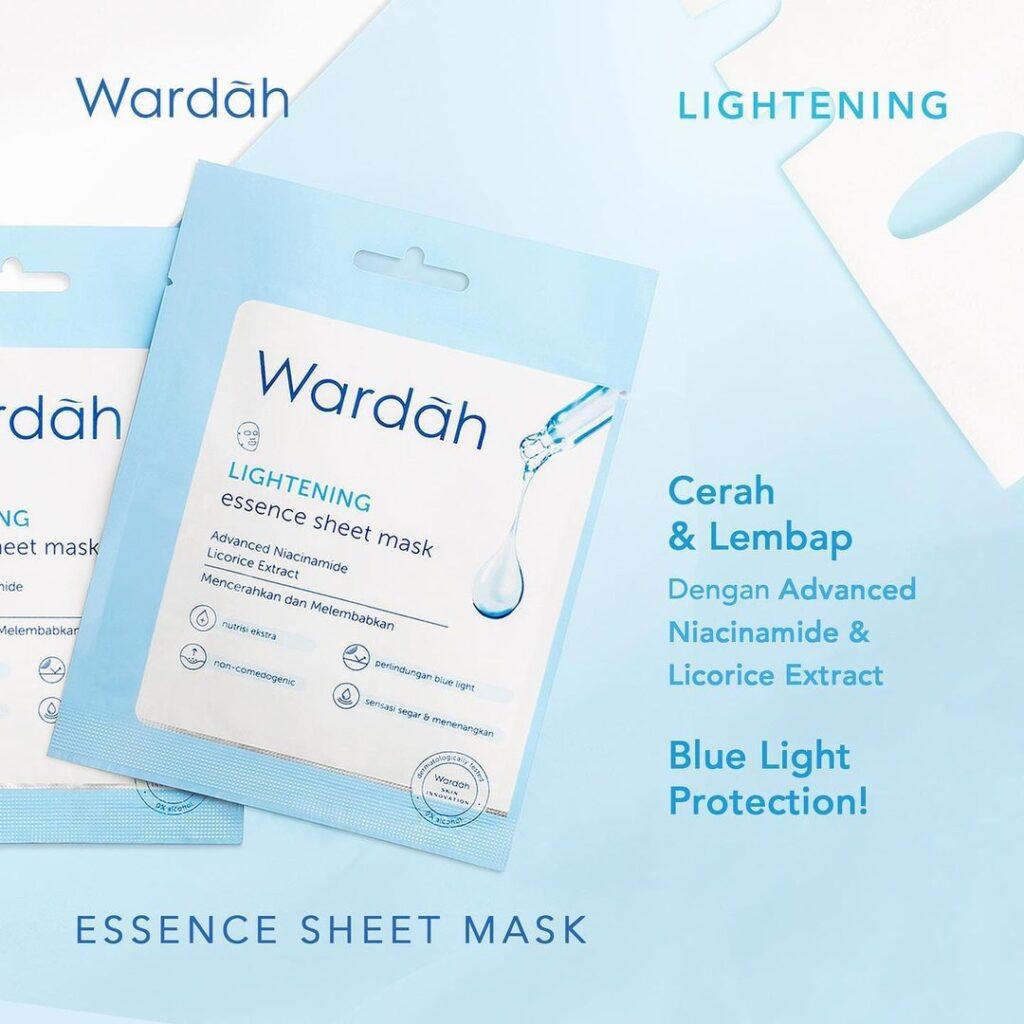 Wardah Lightening Essence Sheet Mask
