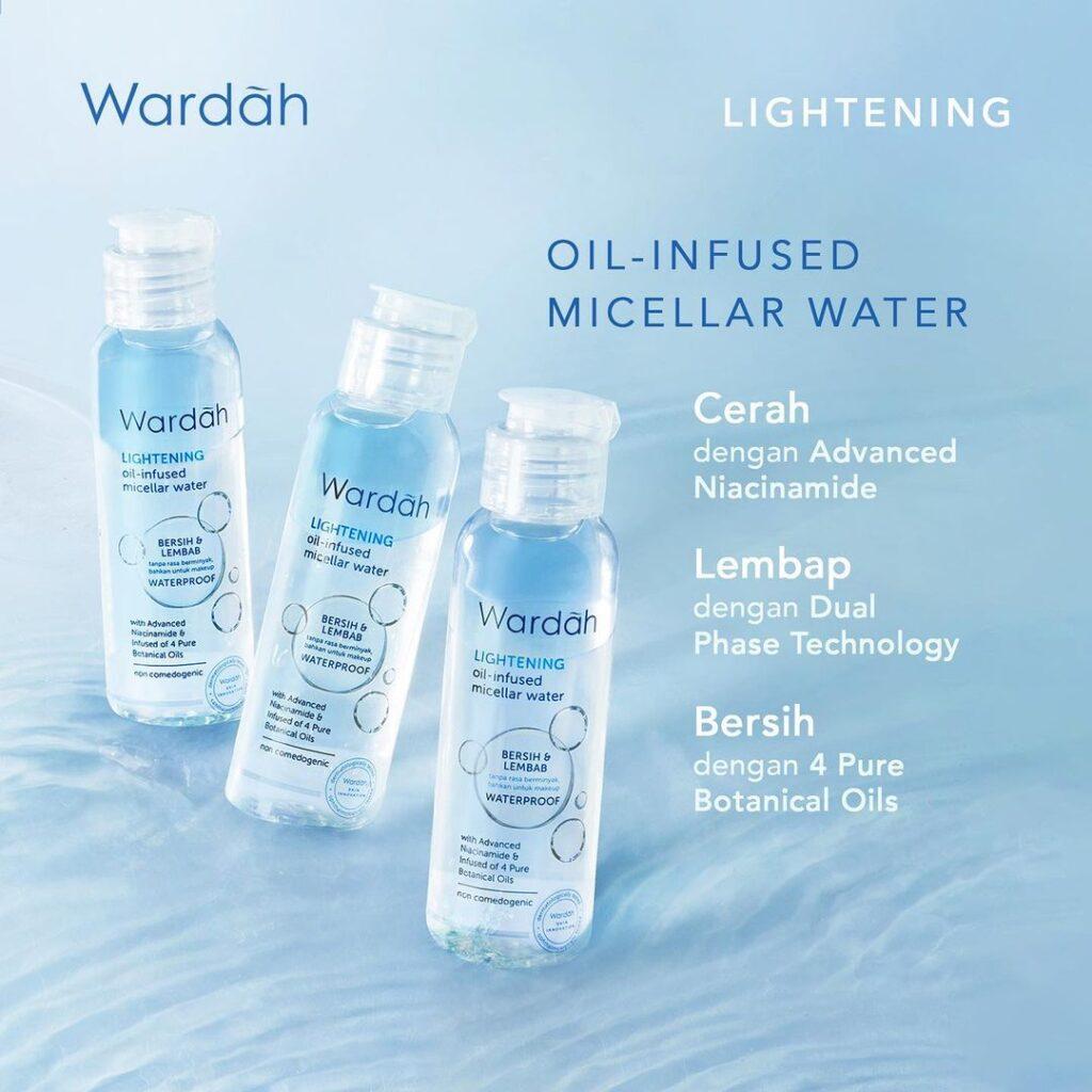 Wardah Lightening Oil-Infused Micellar Water