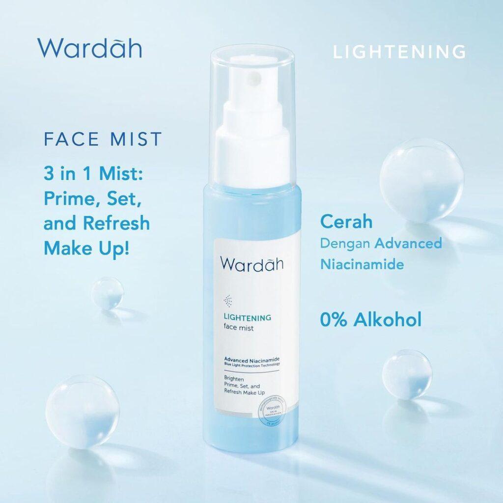 Wardah Lightening Face Mist